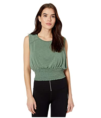 FP Movement Say My Name Smock Top (Green) Women