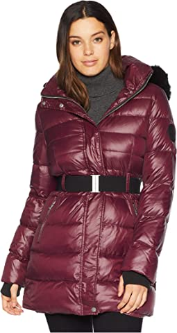 Belted Down Jacket