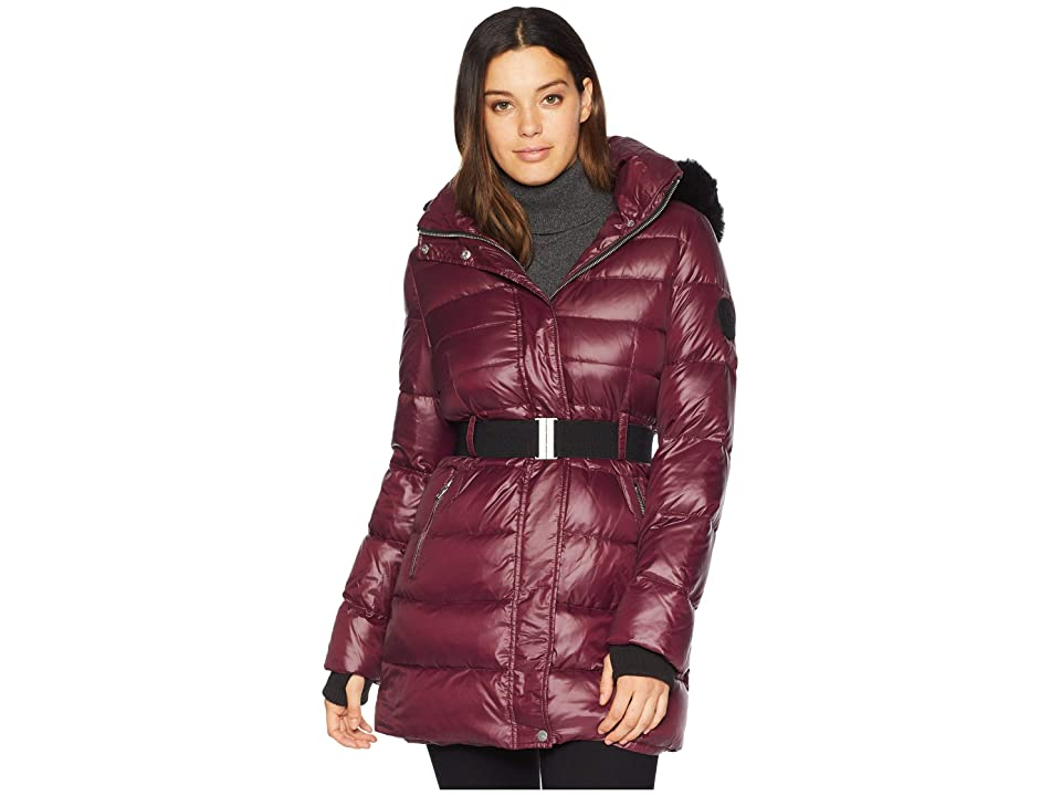 UGG Belted Down Jacket (Port) Women