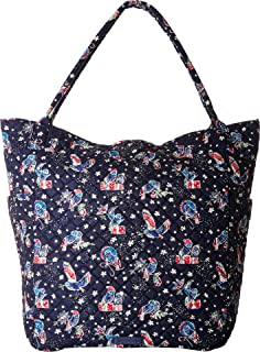 Vera Bradley Bright Tote Holiday Owls One Size