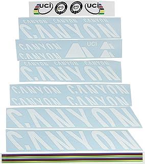 Ecoshirt OA-CNKH-LRKO Pegatinas Stickers Canyon Bike Aufkleber Decals Autocollants Adesivi Frame