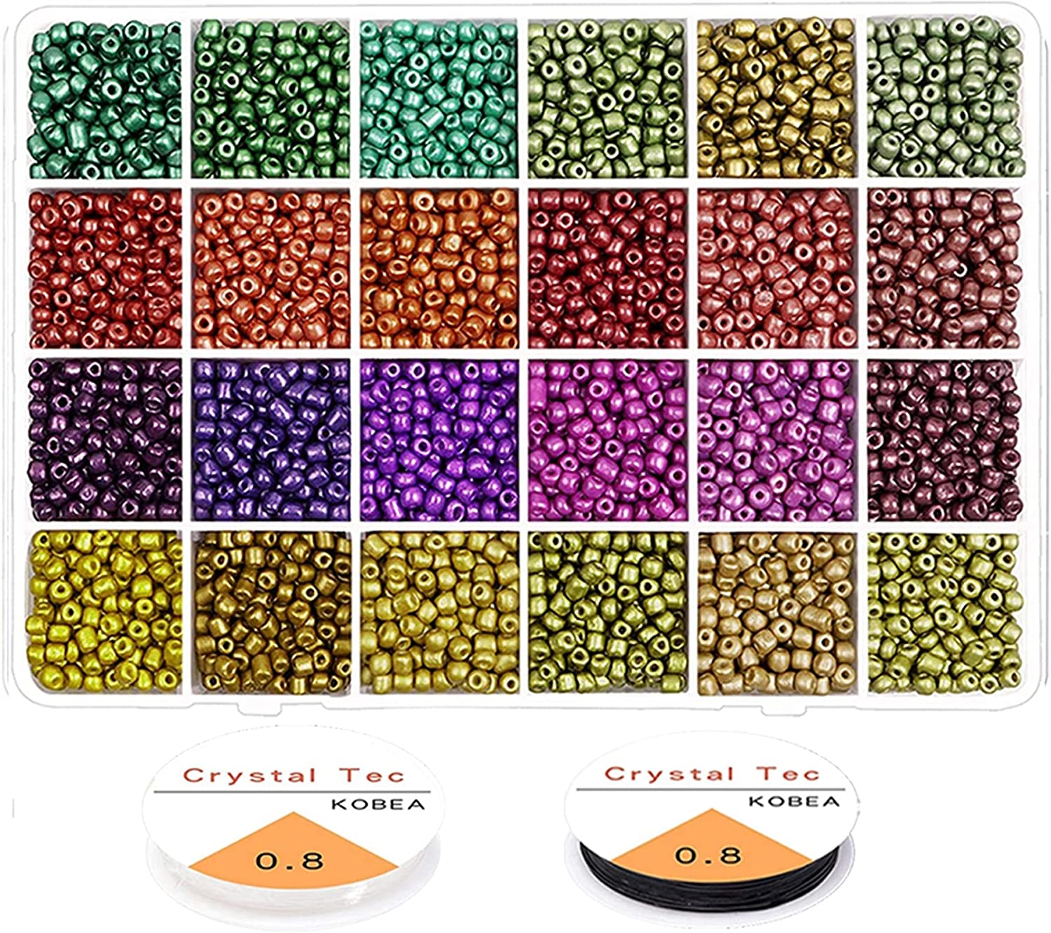 kengbi Bracelet Making Max 46% OFF Sale special price Kit Colorful Jewelr Craft Pearl for Beads