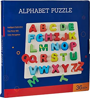 Baby Kids Wooden Learning Letter Educational Toys Puzzle Children Early Learning 3D Shapes Wood Jigsaw Puzzles