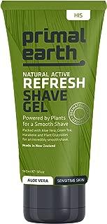 Primal Earth Refresh Shave Gel, 140ml (4.7 oz)