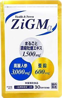 【亜鉛600mg最高配合】ZiGMα ジグムアルファ 120粒 約1カ月分 現役専門医開発監修 サプリメント