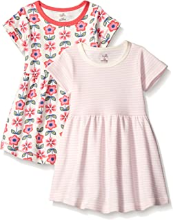 Touched by Nature Baby Girls' Organic Cotton Dress