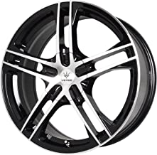 "Verde Custom Wheels Protocol Black Wheel with Machined Lip (17x7""/5x115 mm)"
