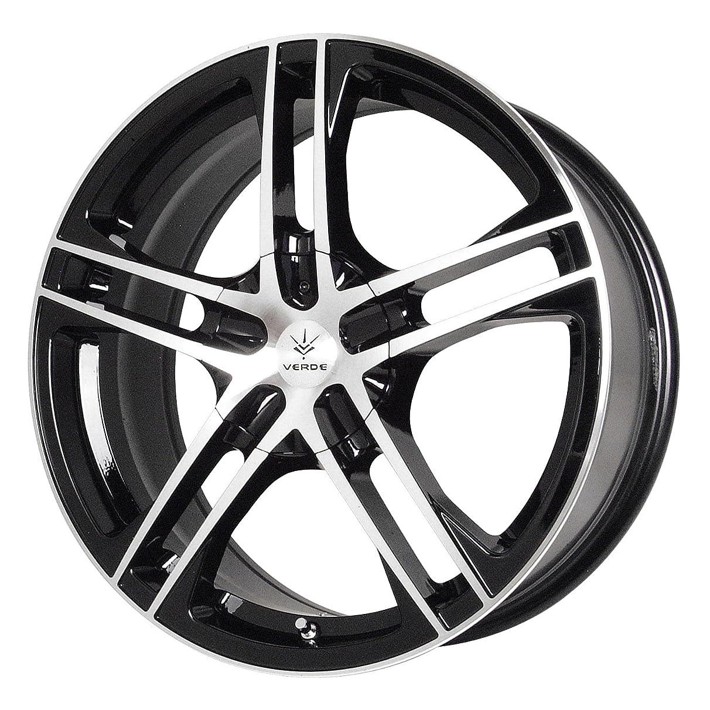 Verde Custom Wheels Protocol Black Wheel with Machined Lip (17x7