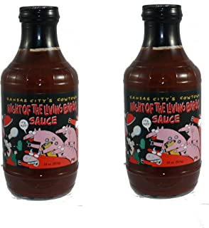 Kansas City's Cowtown Night of the Living Bar-B-Q Sauce - 2 Pack