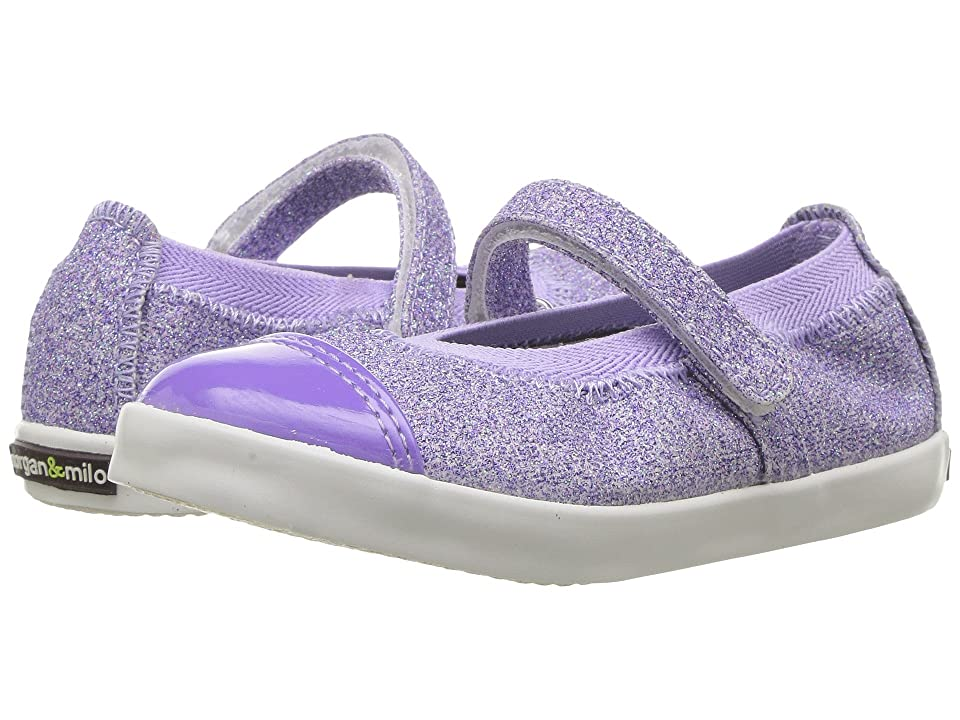 Morgan&Milo Kids Olivia Mary Jane (Toddler/Little Kid) (Lilac) Girls Shoes