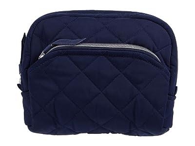 Vera Bradley Performance Twill Medium Cosmetic (Classic Navy) Handbags