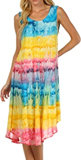 Sakkas Desert Sun Caftan Dress/Cover Up