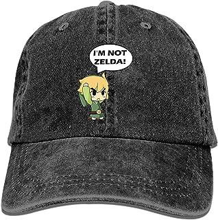 Baseball Cap-I'm Not Zelda Cowboy Hats for Mens Women Dad,Sports Baseball Caps
