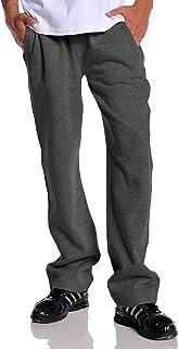 Pro Club Men`s Open Bottom Comfort Fleece Sweatpant