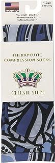 Celeste Stein Therapeutic Compression Socks, Blue Megan, 8-15 Mmhg, Mild