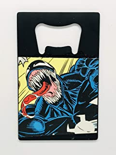 Venom Bottle Opener & Magnet- Handmade from Recycled Manga & Comic Books