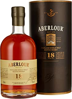 Aberlour 18 Jahre Single Malt Scotch Whisky 1 x 0.5 l