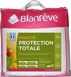 Blanrêve - Couette Très Chaude - Protection Totale - anti acariens et antibactérienne - 260x240 cm
