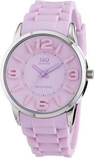 Q&Q Women's Quartz Watch Q674J305Y with Plastic Strap