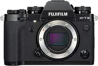 Fujifilm X-T3 Mirrorless Digital Camera (Body Only) - black