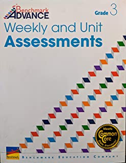 Benchmark Advance: Weekly and Unit Assessments Grade 3, c. 2018, 9781512552102, 1512552100