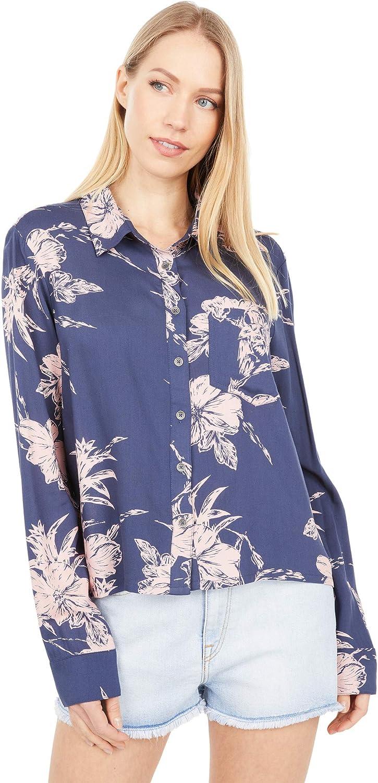 Roxy Women's Not Now Long Sleeve Shirt