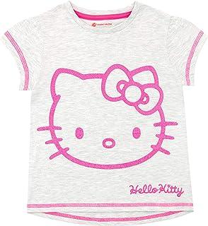 Hello Kitty Camiseta de Manga Corta para niñas