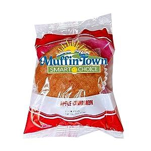 Smart Choice Wholegrain Apple Cinnamon Muffin - 72 per Case