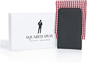 Squared Away: Pocket Square Holder for Men - Handkerchief Holder - Suit Pocket Squares Holder for Men