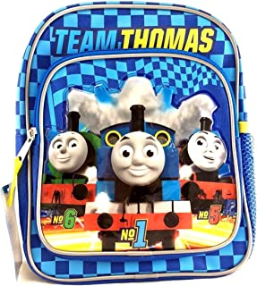 [ファブ]FAB Team Thomas the Train Engine Mini 10 Canvas Blue School Backpack No1 Thomas 85104 [並行輸入品]