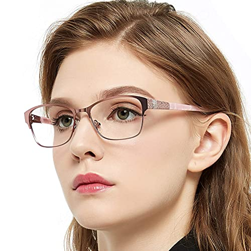 6bd462912 OCCI CHIARI Retro Fashion Metal Optical Non-prescription Eyewear Frames For  Women