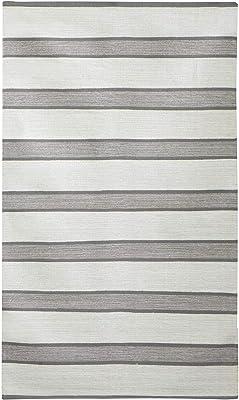 Alfombra Jute & Co. Rugs, Dim. 70 x 100 cm, 100% algodón, Gris ...
