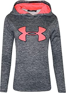 Women's UA Storm Big Logo Hoodie Heather Athletic Shirt