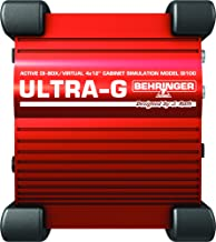 Behringer GI100 Behringer Ultra-G GI100 Professional Battery/Phantom Powered DI-Box