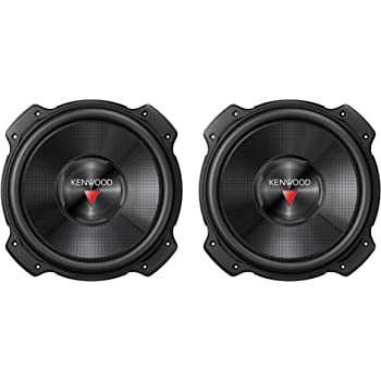 Pair of Kenwood Excelon KFC-XW1000F 10 2000W Shallow Car Audio Subwoofers Subs