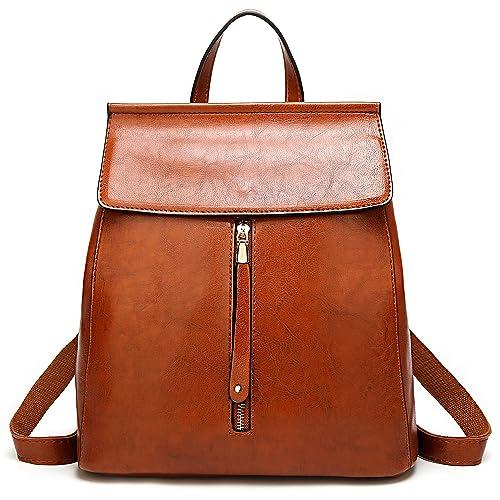 18c092e811d1 ELOMBR Women Backpack Purse Casual Shoulder Bag Ladies Rucksack School Bag  for Girls