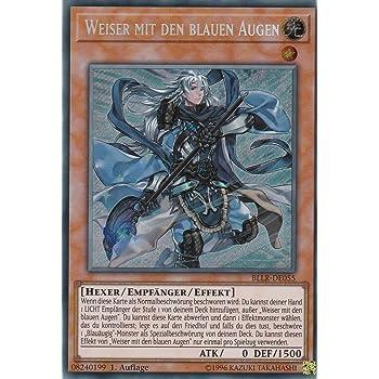 BLLR-DE055 Weiser mit den blauen Augen Yu-Gi-Oh Secret Rare, 1. Auflage