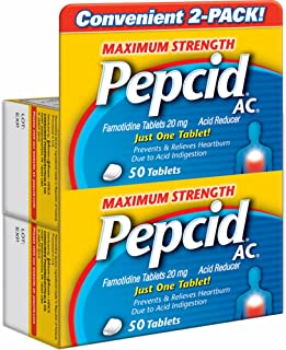 Pepcid AC Maximum Strength Acid Reducer - 100ct.