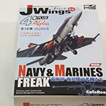 J-Wings Navy & Marine Freak CFR99 F/A-18C Hornet The Mighty Shrikes LV Military Aircraft 1/144 Scale Airplane Kit
