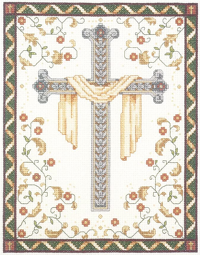 Janlynn 10235 His Cross Counted Cross Stitch Kit-8