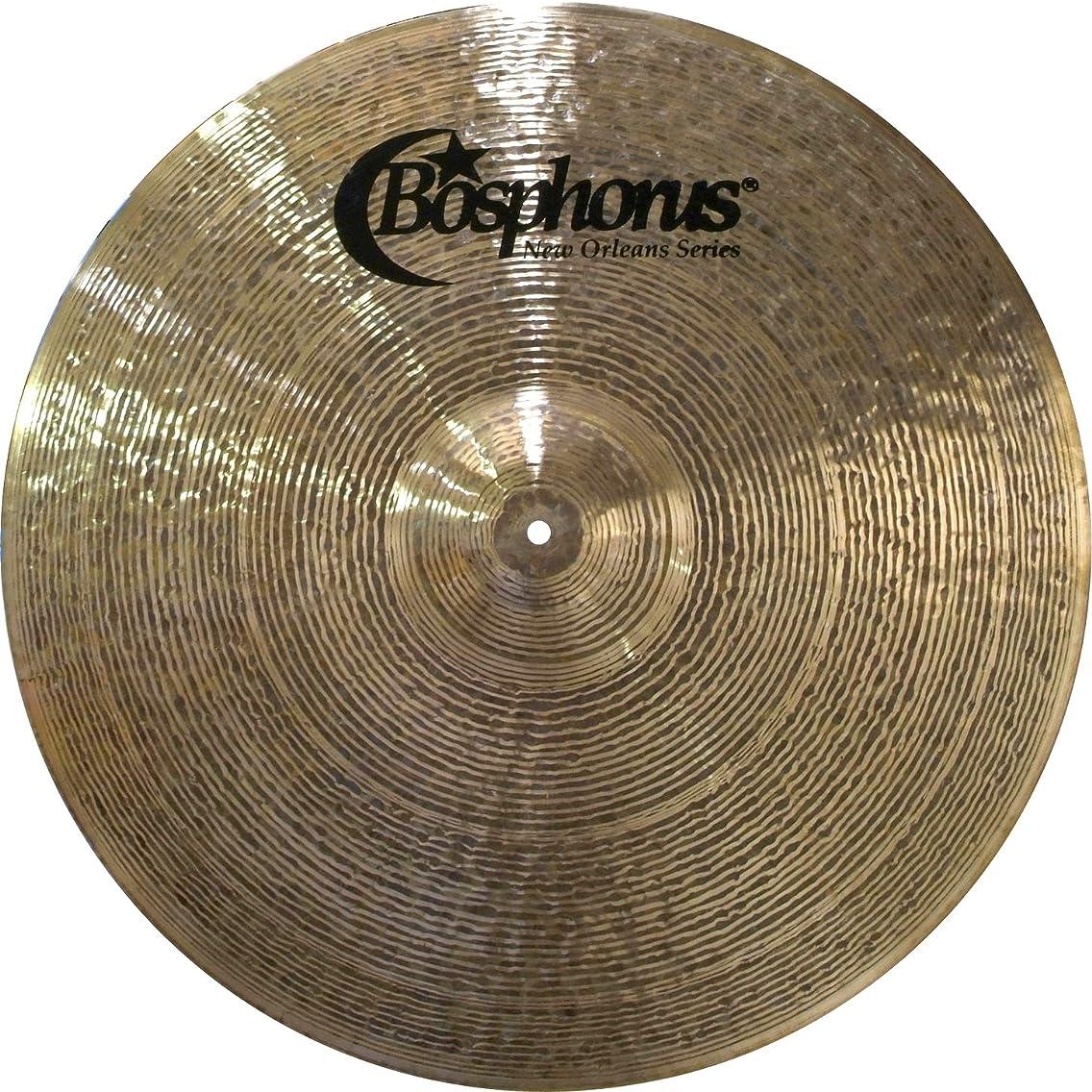 Bosphorus Cymbals N22R 22-Inch New Orleans Series Ride Cymbal