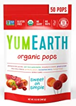 Yummy Earth Organic Lollipops, 12.3 Ounce (Packaging May Vary)