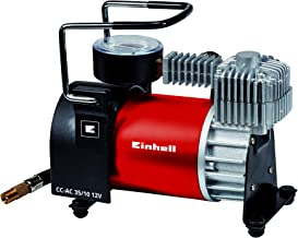 Einhell Auto Kompressor CC-AC 35/10 12 V (0-10 bar Druckmanometer, 35 Liter pro Minute..