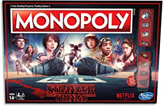 MONOPOLY - Netflix Stranger Things Edition - 2 to 8 Players - Family Board Games - Ages 14+