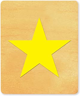 Ellison Sure Cut Die Star #1B, X-Large, Yellow