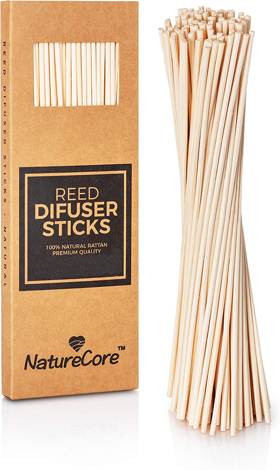 NatureCore New Rattan Outlet sale feature Reed Diffuser Super popular specialty store Stick Set 100 Inc PCS of - 7