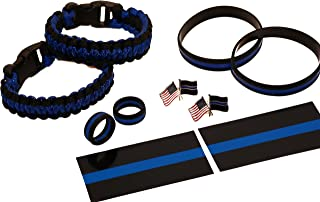 Beall's Bay Thin Blue Line (10) Piece Double Kit with 10 Paracords