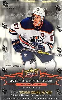 2018/19 Upper Deck Series 1 NHL Hockey HOBBY box (24 pk)