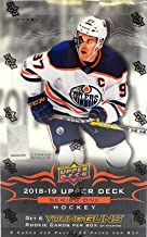 2018/19 Upper Deck Series 1 NHL Hockey HOBBY box (24 pk)