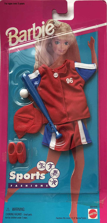 Barbie Baseball Sports Fashion Outfit (1995) by Barbie